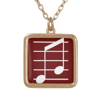8th note 4 pendant