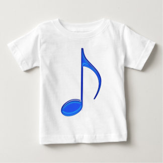 8th Note Blue Large 2010 Baby T-Shirt