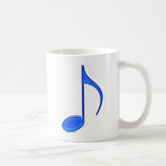 8th Note Blue Large 2010 Coffee Mug