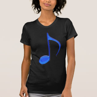 8th Note Blue Large 2010 T-Shirt