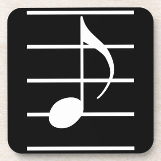8th note coasters