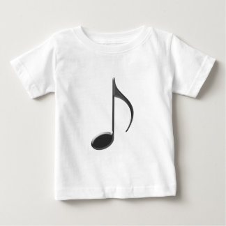 8th Note Large Black 2010 Baby T-Shirt