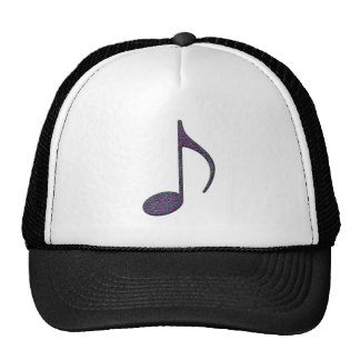 8th Note Large Trucker Hat