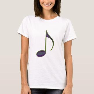 8th Note Large Purplish T-Shirt