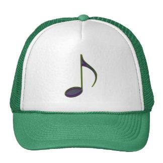 8th Note Large Purplish Trucker Hat