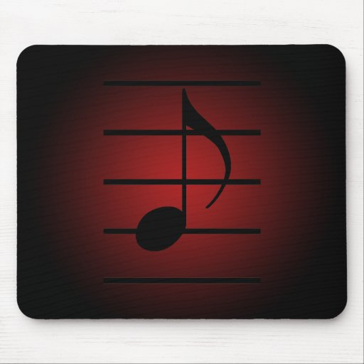 8th note mousepads