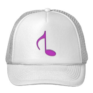 8th Note Reversed Created 2010 Large Trucker Hat