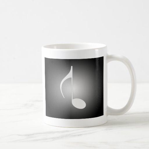 8th Note Reversed Large Classic White Coffee Mug