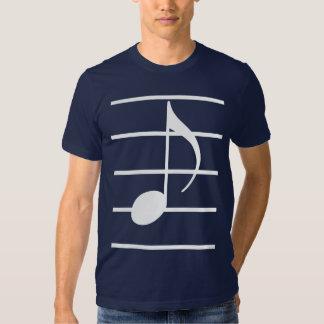 8th note tee shirt