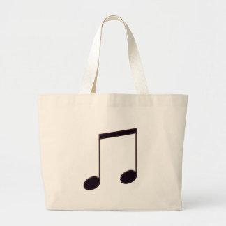 8th NoteS Canvas Bag
