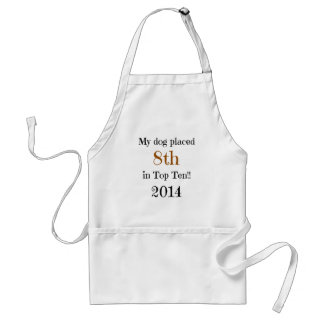 8th place Top Ten Adult Apron