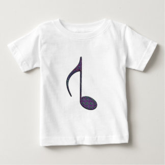8th Reversed Note Large Multi Colored 2010 Baby T-Shirt