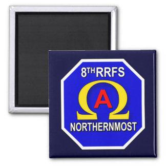8th RRFS 2 2 Inch Square Magnet