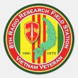 8th RRFS 2 - ASA Vietnam Round Stickers