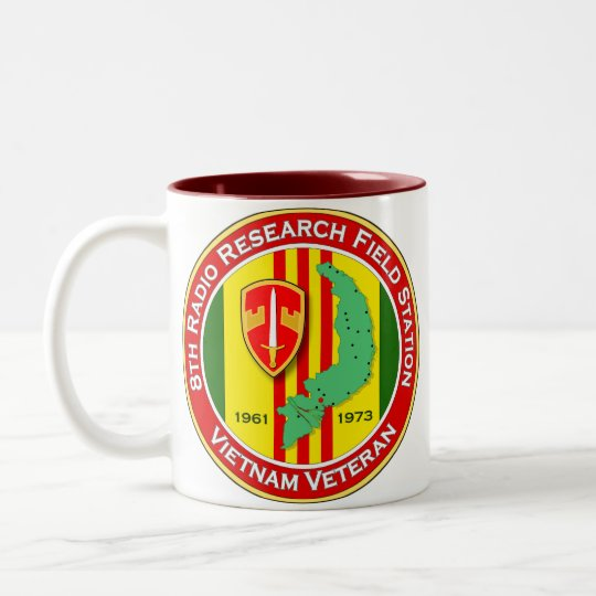 8th RRFS 2 - ASA Vietnam Two-Tone Coffee Mug