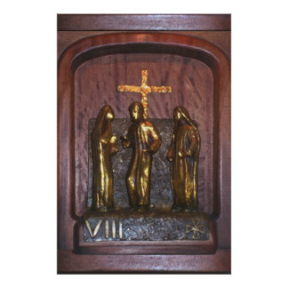 8th Station of the Cross Posters