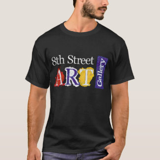 8th Street Art Gallery Logo T-Shirt