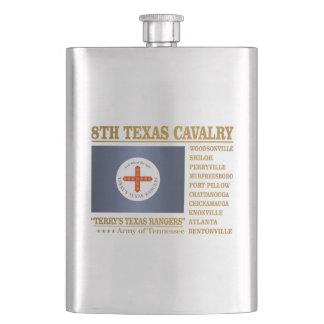 8th Texas Cavalry (BA2) Flask