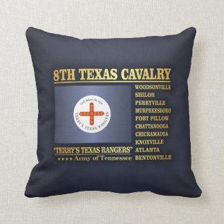 8th Texas Cavalry (BA2) Throw Pillow