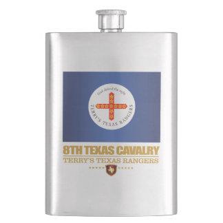 8th Texas Cavalry Flask