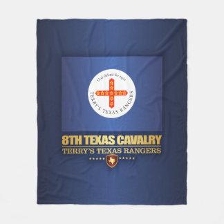 8th Texas Cavalry Fleece Blanket