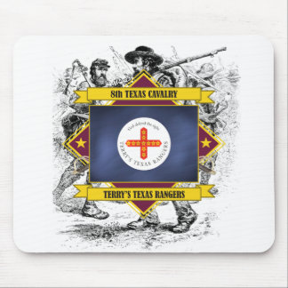 8th Texas Cavalry Mouse Pad