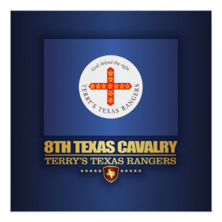 8th Texas Cavalry Poster