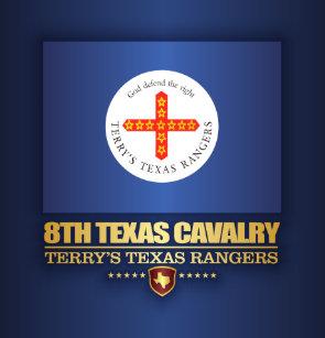 8th Texas Cavalry Shower Curtain