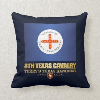 8th Texas Cavalry Throw Pillow
