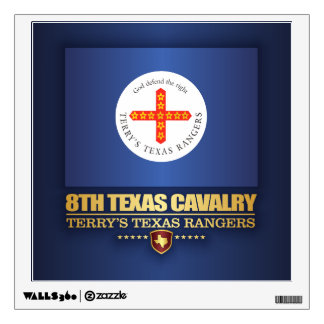 8th Texas Cavalry Wall Sticker