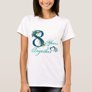 8th wedding anniversary / 8 / 8th / number 8 T-Shirt