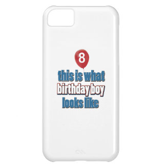 8th year birthday designs iPhone 5C covers