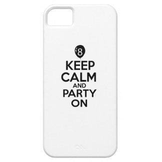 8th year birthday designs iPhone 5 case
