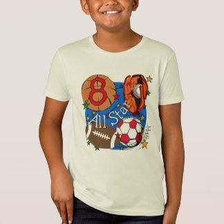 8vas camisetas y regalos del cumpleaños de All