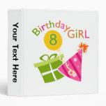 8vo cumpleaños - chica del cumpleaños