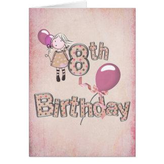 8vo Cumpleaños Tarjeta De Felicitación