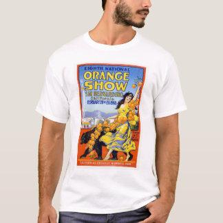 8vo Demostración anaranjada nacional 1918 Playera