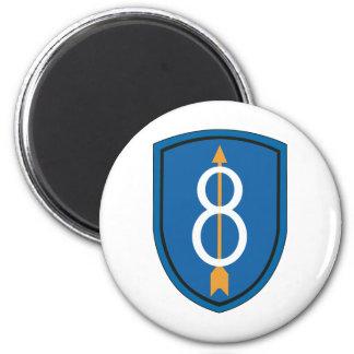 8vo División de infantería Imán Redondo 5 Cm
