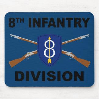 8vo División de infantería - rifles cruzados - con Mousepad