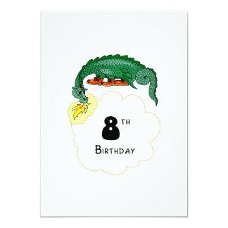 8vo Dragón del cumpleaños Anuncios Personalizados