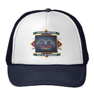 8vo Infantería voluntaria de Kansas Gorras De Camionero