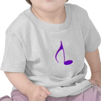 8vo Observe 2010 agrietados púrpuras invertidos gr Camisetas