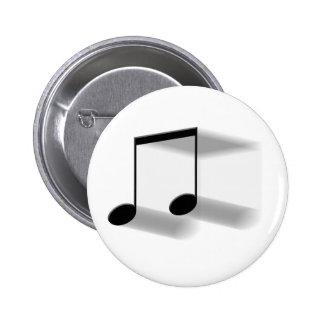 8vo Observe el botón de la falta de definición Pin Redondo De 2 Pulgadas