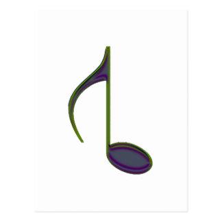 8vo Observe el verde purpurino grande invertido Postales
