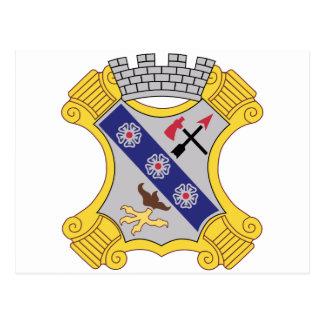 8vo Remiendo del regimiento de infantería Postales