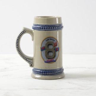 8vo Taza de cerveza de la flota