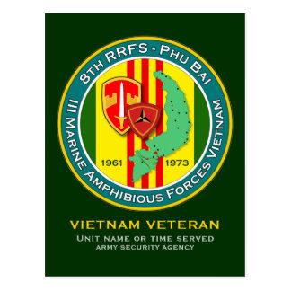 8vos RRFS - MAF 1 - ASA Vietnam Postales