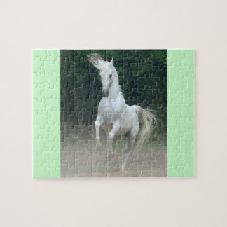 8x10 Photo Puzzle with Gift Box, Magnificent Horse