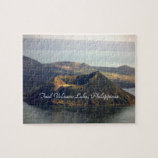 8x10 Photo Puzzle with Tin, Taal Volcano Lake