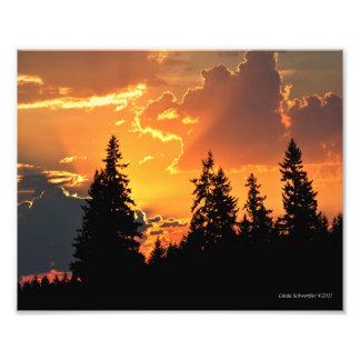8X10 salida del sol - el regalo del cielo Fotografia